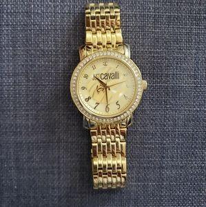 💯 Authentic Cavalli gold watch